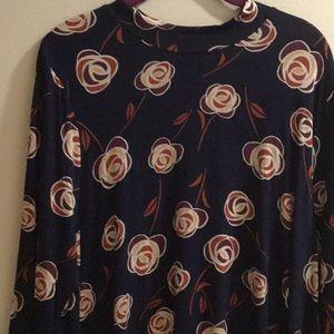 Style & Co XL Flower Dress NWT Macy's